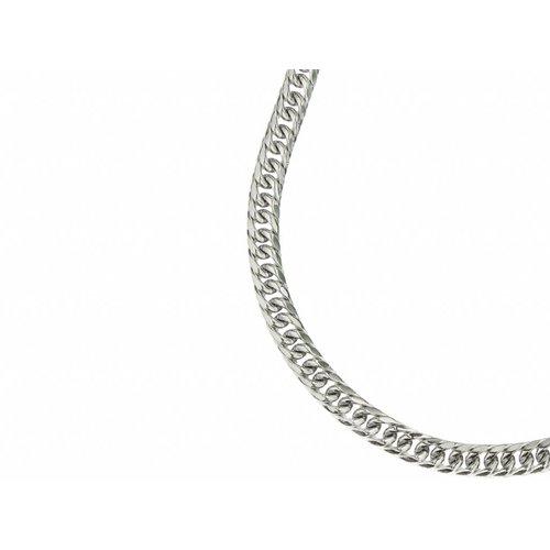 Bukovsky Stainless Steel Jewelry Bukovsky Stalen Heren Ketting SH9015 - Gourmette - Lengte: 61 cm - Breedte: 0,9 cm - Dikte: 0,4 cm