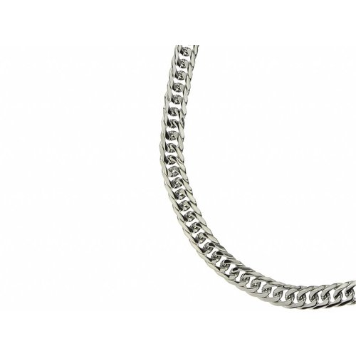 Bukovsky Stainless Steel Jewelry Bukovsky Stalen Heren Ketting SH9220 - Gourmette - Lengte: 71 cm - Breedte: 0,9 cm - Dikte: 0,3 cm