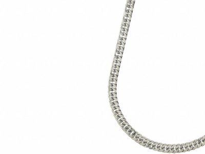 Bukovsky Stainless Steel Jewelry Bukovsky Stalen Heren Ketting SH9230 - Gourmette - Lengte: 61 cm - Breedte: 0,8 cm - Dikte: 0,4 cm