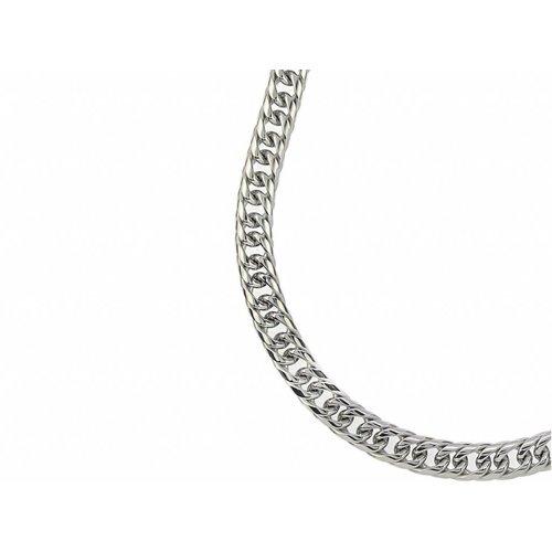 Bukovsky Stainless Steel Jewelry Bukovsky Stalen Heren Ketting SH7970 - Gourmette - Lengte: 60 cm - Breedte: 1,1 cm - Dikte: 0,4 cm