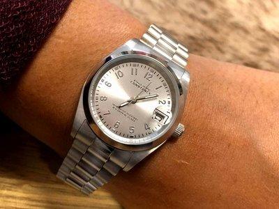 Stalen Philippe Constance Horloge Philippe Constance Stalen Dameshorloge - 7660 Medium - Zilverkleur - Schakelband - Datumaanduiding