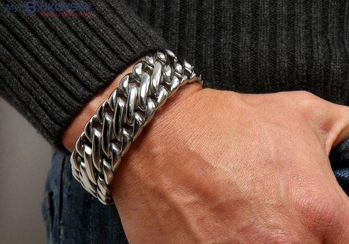 """Stalen Bukovsky Heren Armbanden """"Deluxe"""""""