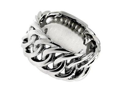 Bukovsky Stainless Steel Jewelry Stalen Bukovsky Ring Prestige -  316L Gepolijst Staal - Vanaf € 26,50 - Gratis Verzending