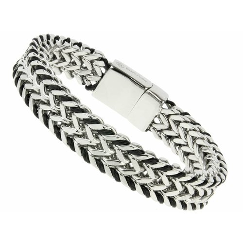 """Bukovsky Stainless Steel Jewelry Stalen Heren Armband Bukovsky """"Bright"""" - Gepolijst - Vanaf € 37,50"""
