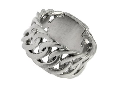 Bukovsky Stainless Steel Jewelry Stalen Bukovsky Heren Ring Prestige -  316L Geborsteld Staal - Vanaf € 26,50 - Gratis Verzending