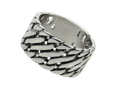 Bukovsky Stainless Steel Jewelry Stalen Bukovsky Ring Elegance - 316L Gepolijst Staal - Vanaf € 27,50 - Gratis Verzending