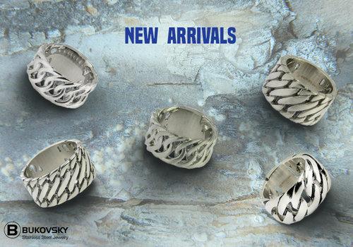 Stalen Bukovsky Dames Ringen