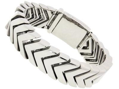 """Bukovsky Stainless Steel Jewelry Stalen Heren Armband Bukovsky """"Believe"""" - Gepolijst - Vanaf € 67,50"""