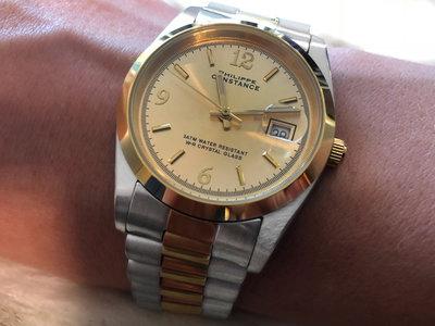 Stalen Philippe Constance Horloge Philippe Constance Dameshorloge Staal - 2125 Large - Staal - Bicolor - Goud - Zilver - Datumaanduiding - Gratis Verzending