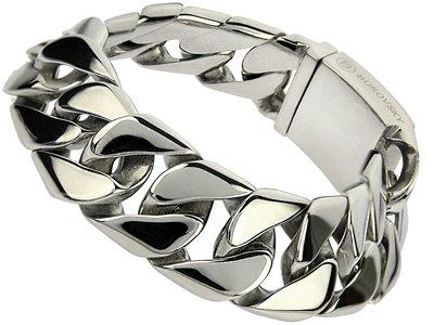 "Bukovsky Stainless Steel Jewelry Stalen Dames Armband Bukovsky ""Force Small"" - Gepolijst - Vanaf € 49,50"