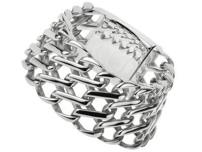 "Bukovsky Stainless Steel Jewelry Stalen Dames Armband Bukovsky ""Empire"" - Gepolijst - Vanaf € 67,50"