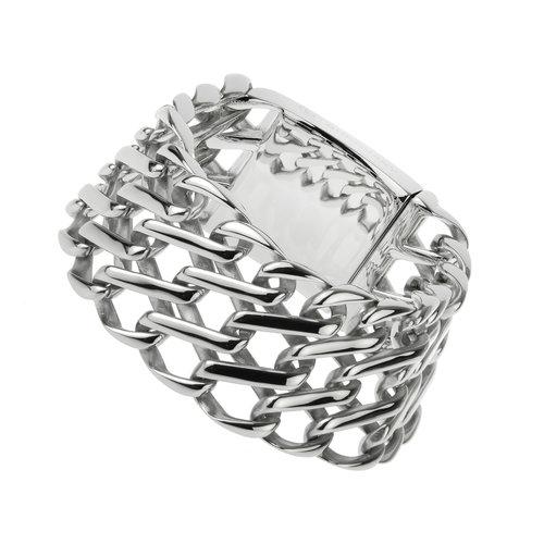"""Bukovsky Stainless Steel Jewelry Stalen Heren Armband Bukovsky """"Empire"""" - Gepolijst - Vanaf € 67,50"""