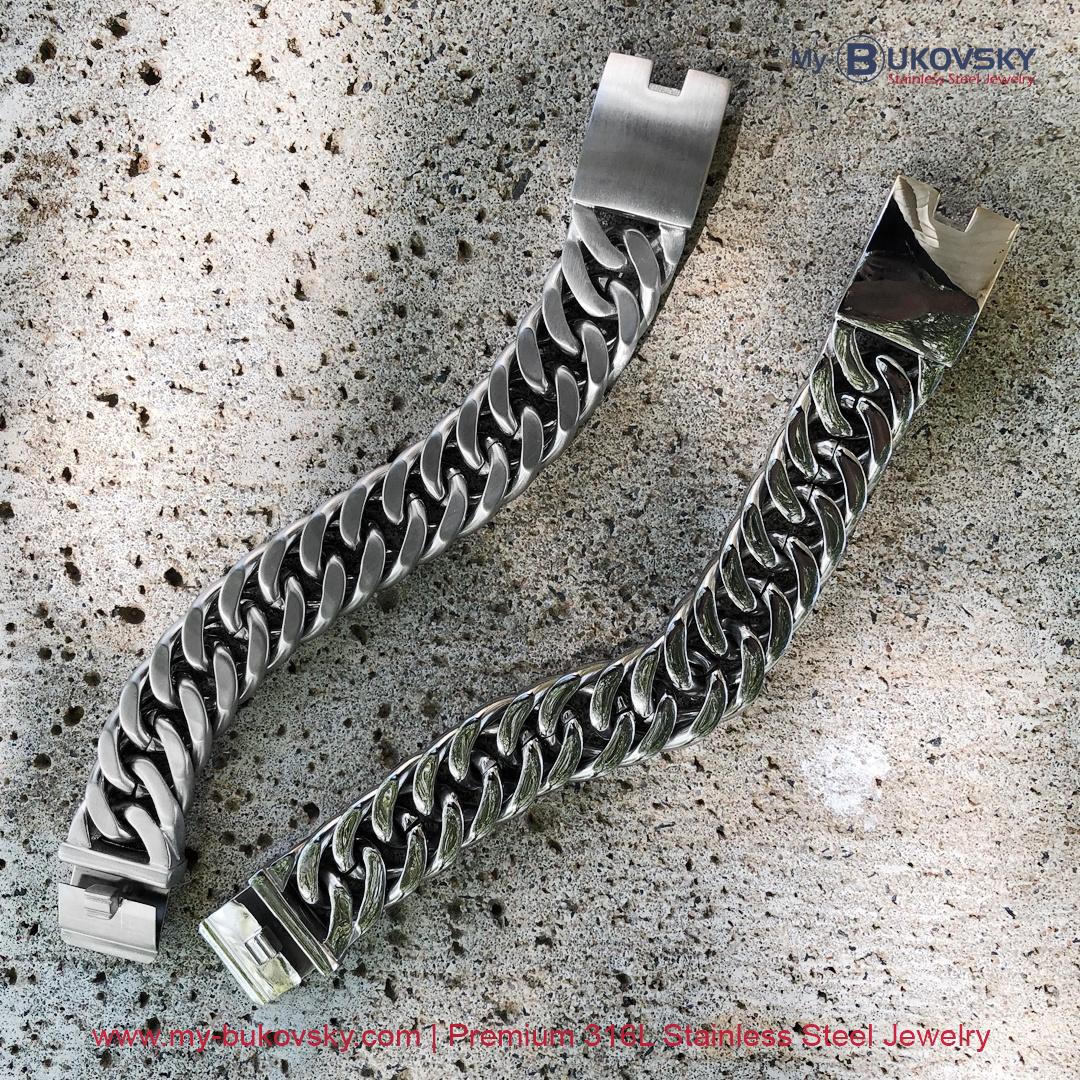 brede-heren-armband-man-geborsteld-staal-schakel-gourmette-baksluiting-men-bukovsky-bracelet-steel-brushedt-18cm-19cm-20cm-21cm-22cm-23cm