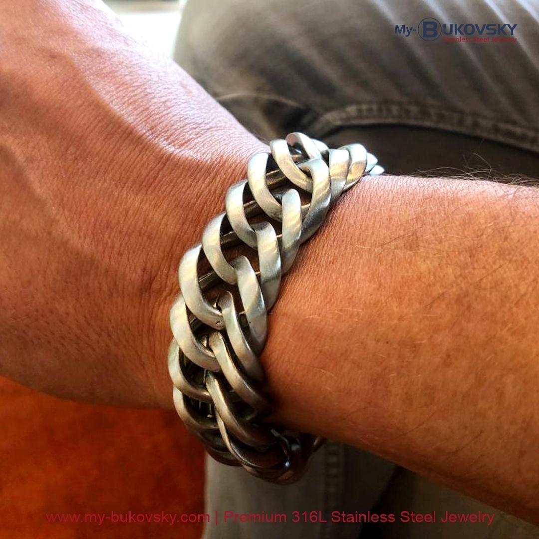 armband-mat-geborsteld-staal-bukovsky-prestige-18cm-19cm-20cm-21cm-22cm-23cm-rvs-armband-kopen