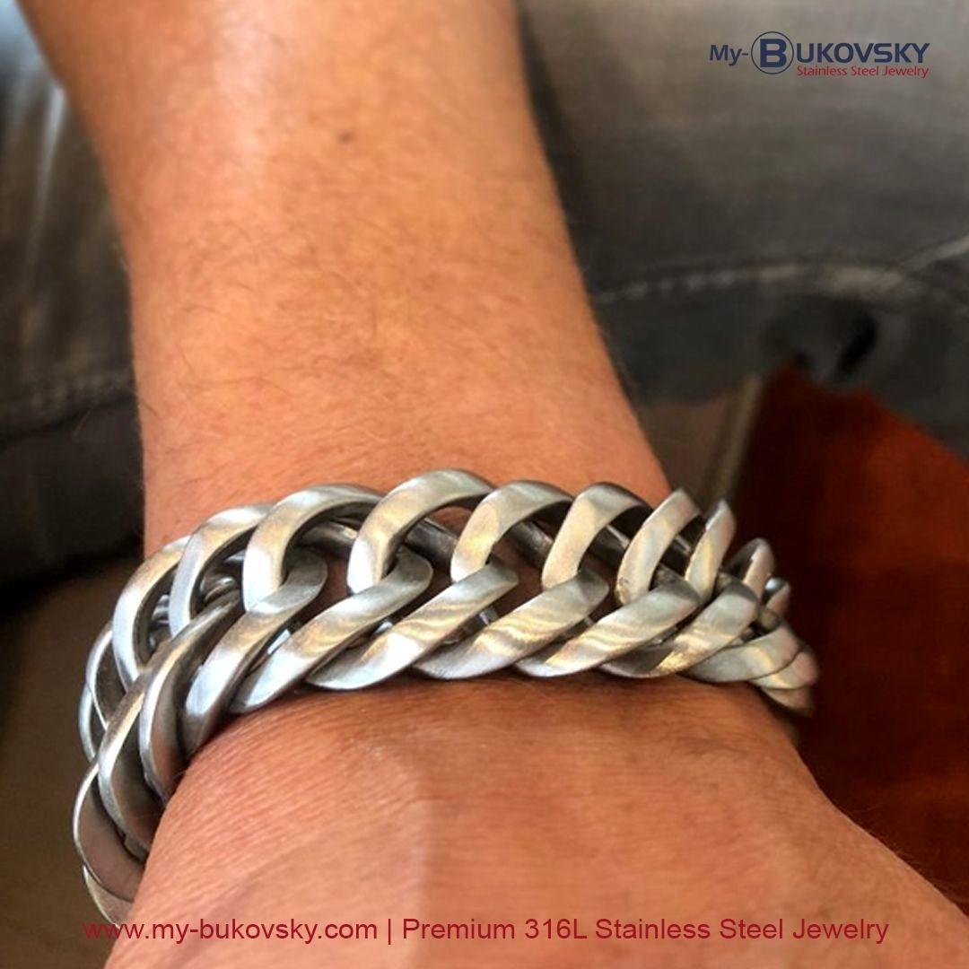 stainless steel bracelet bukovsky amsterdam