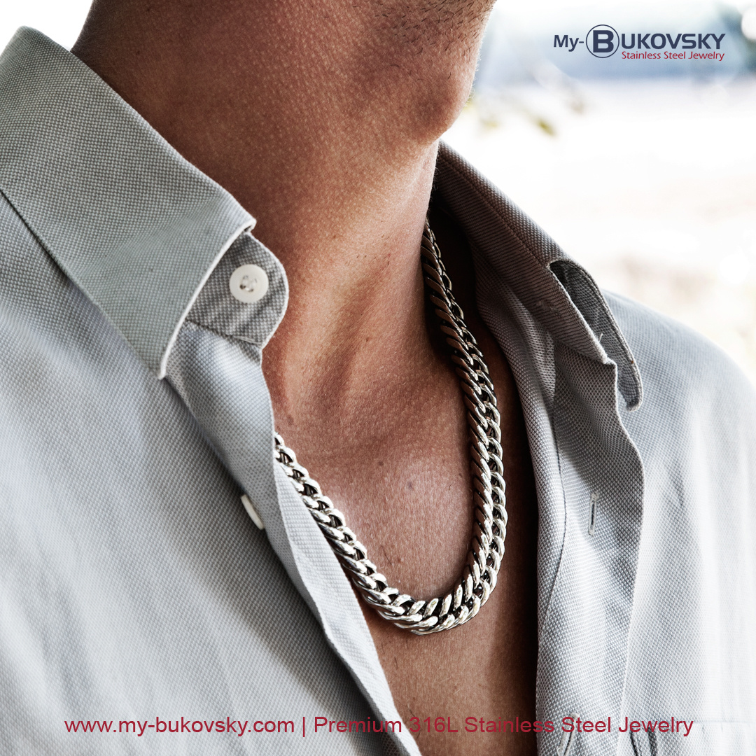 heren-ketting-staal-rvs-garantie-my-bukovsky-men-jewelry