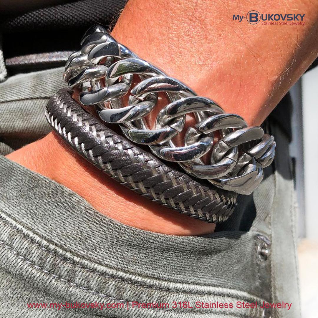 staal-armband-heren-bukovsky-chasexl-19cm-20cm-21cm-22cm-23cm