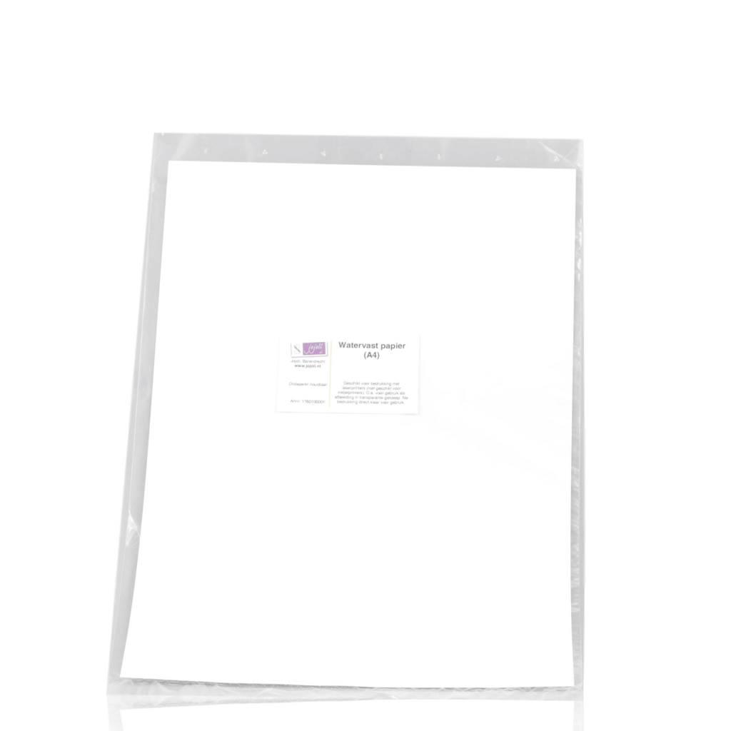 Waterbestendig papier
