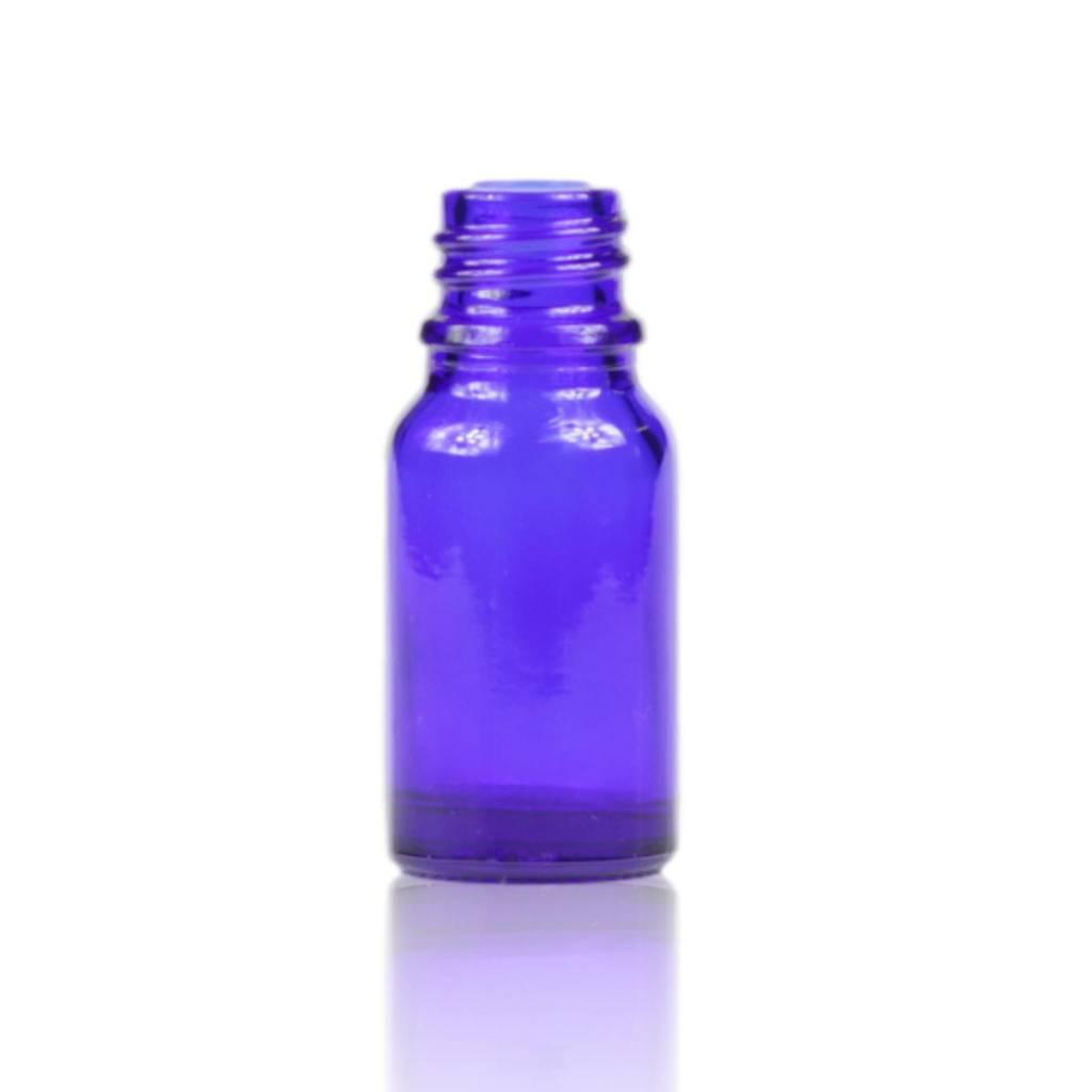 Blauwglas fles 10 mL