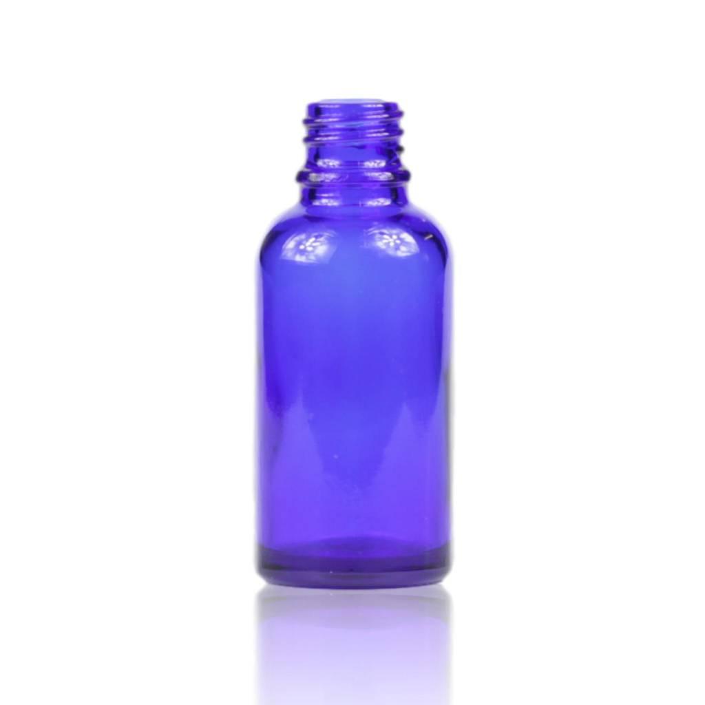 Blauwglas fles 30 mL