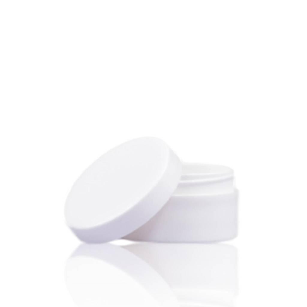 Klein wit crèmepotje 6 mL