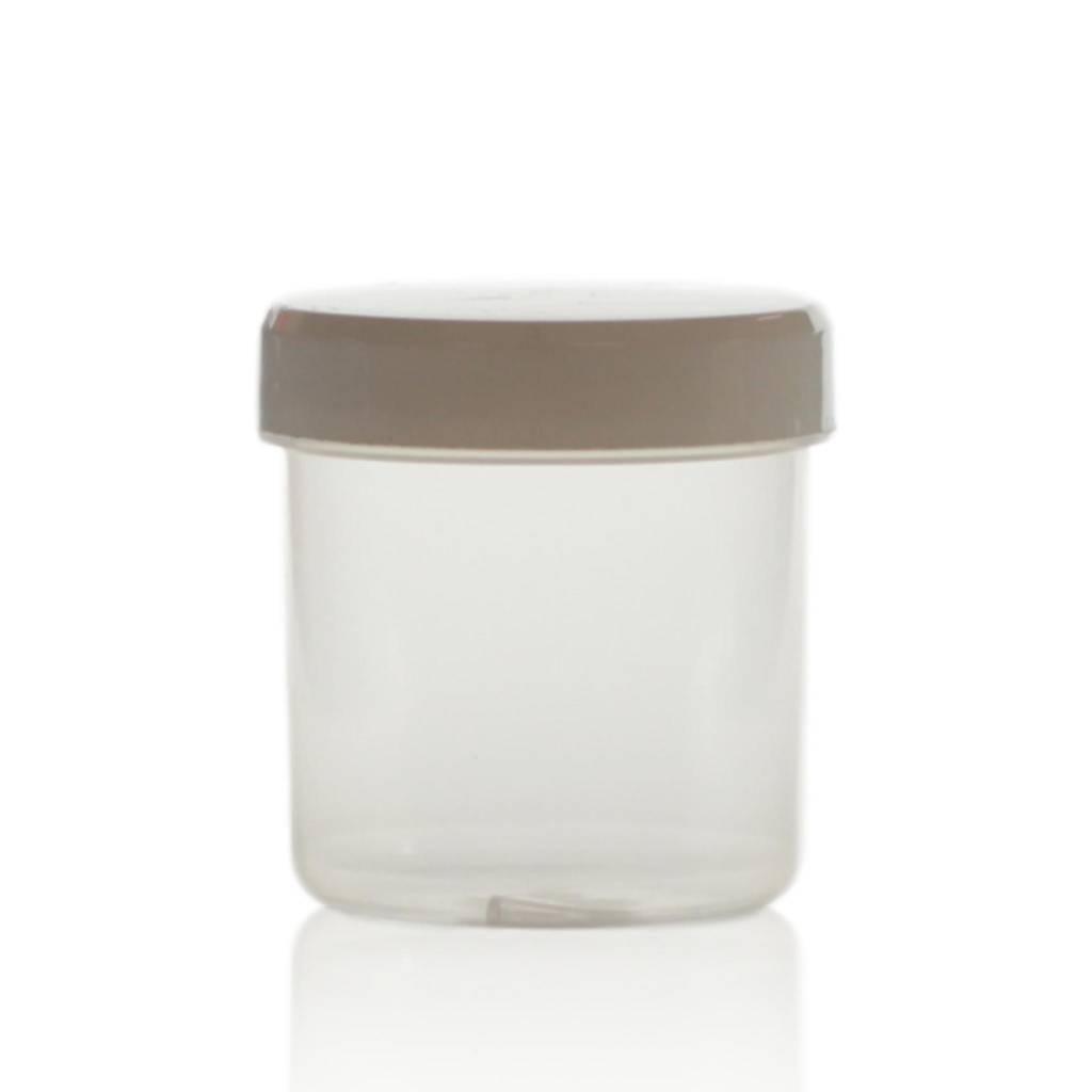 Cosmeticapot transparant 75 mL
