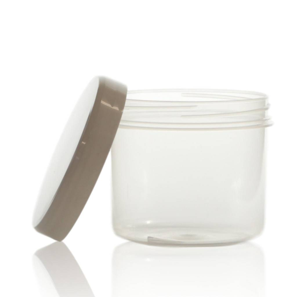 Cosmeticapot transparant 135 mL