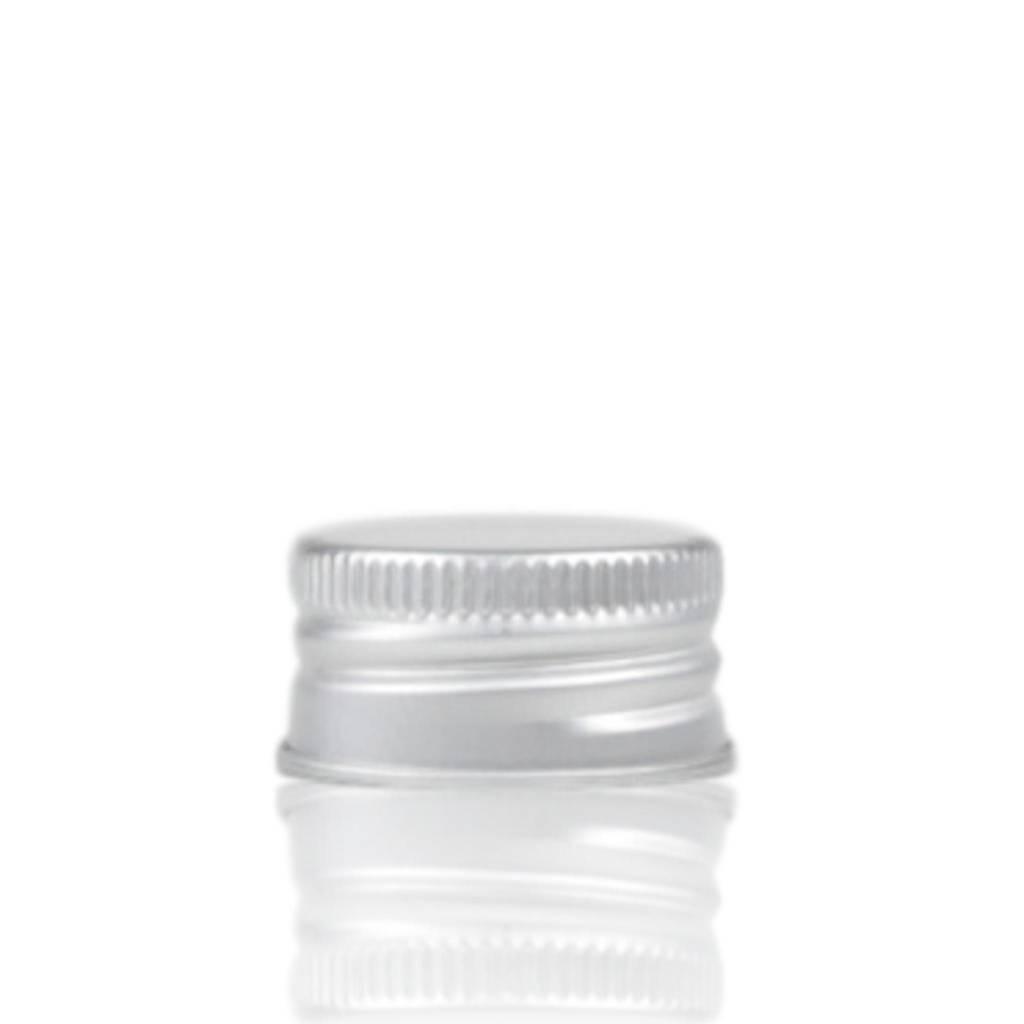 Aluminium schroefdop (halstype D of 24/410)
