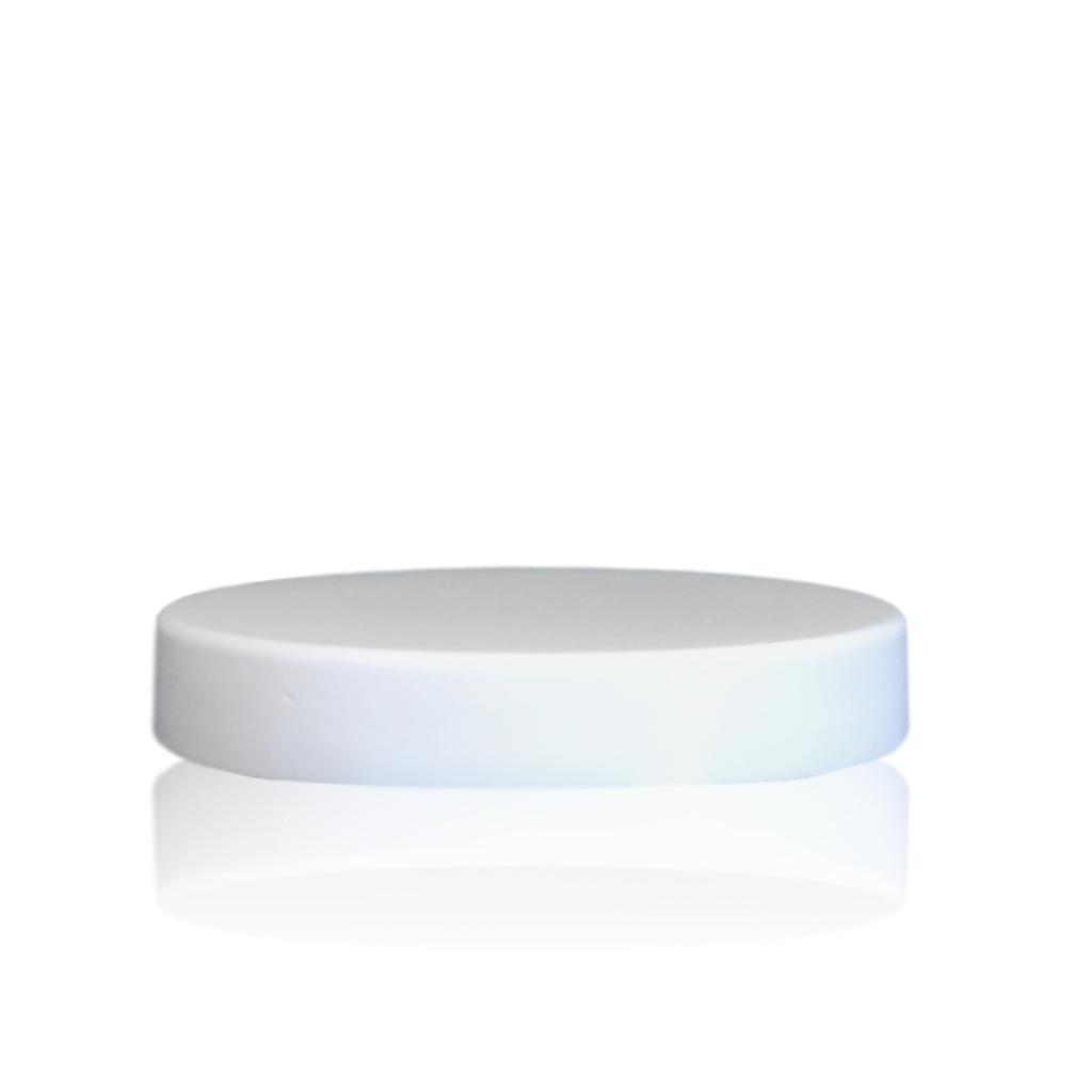 Wit deksel voor cosmeticapot 150 en 250 mL