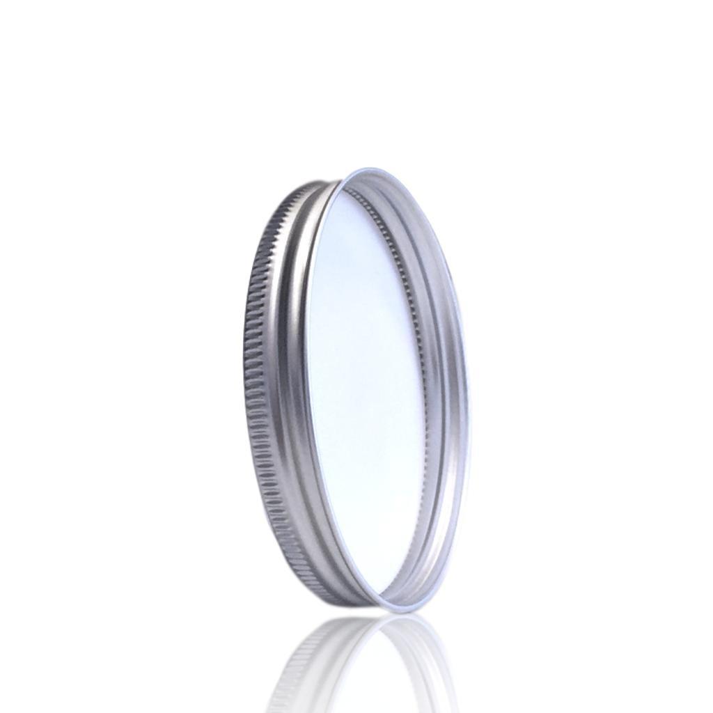 Aluminium deksel voor cosmeticapot 150 en 250 mL