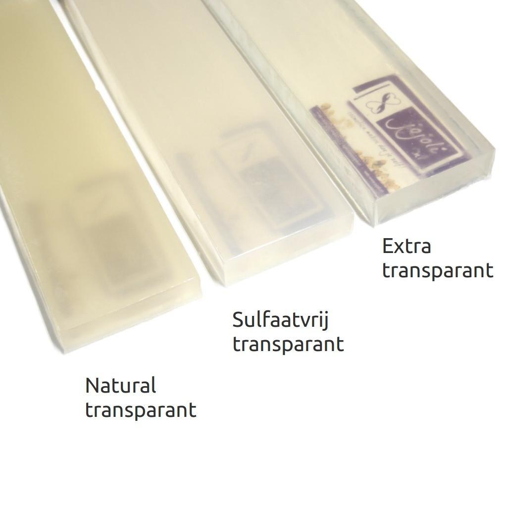 Gietzeep - Sulfaatvrij transparant