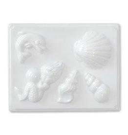 Zeepmal 5 zeevormen