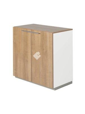 NICE PRICE OFFICE Draaideurkast NP hout 2OH 80 cm