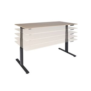 NICE PRICE OFFICE Pro-Fit Zit Sta tafel electrisch 12080