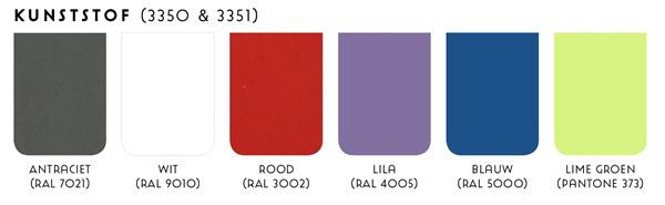 Kleurkaart kunststoffen