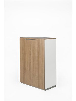 NICE PRICE OFFICE Draaideurkast NP hout 3OH 80 cm