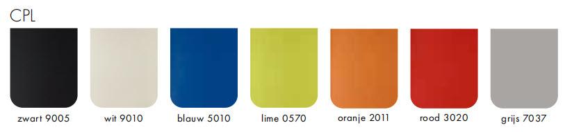 CPL kleuren