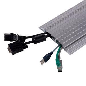 DATAFLEX Kabelbeschermer ADDIT - 118 cm recht vloer 45