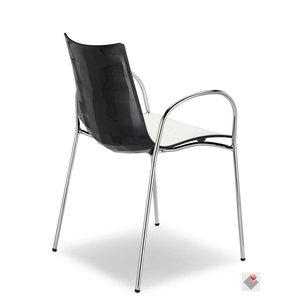 SCAB Design stoel ZEBRA BICOLORE Braccio