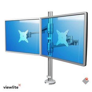 DATAFLEX ViewLite Monitorarm 142 Zilver-wit