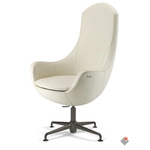 MOVING Lounge stoel CARDINALE HI CA19 Blackchrome
