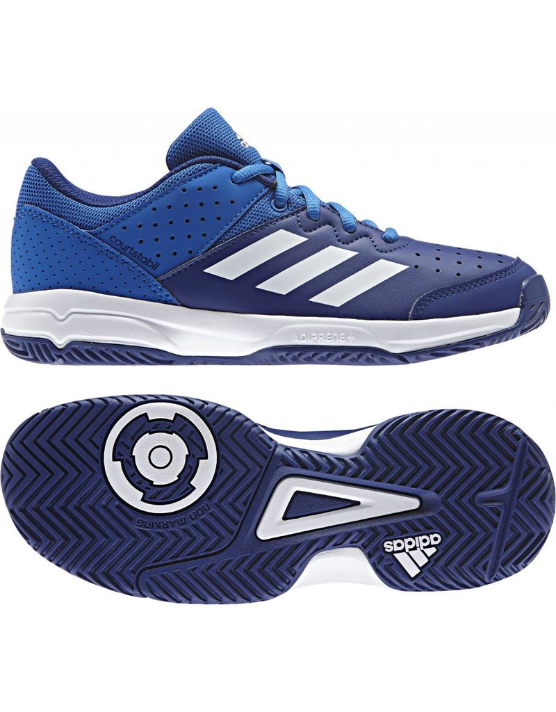 ADIDAS adidas Court Stabil Junior blue schoen 17-18