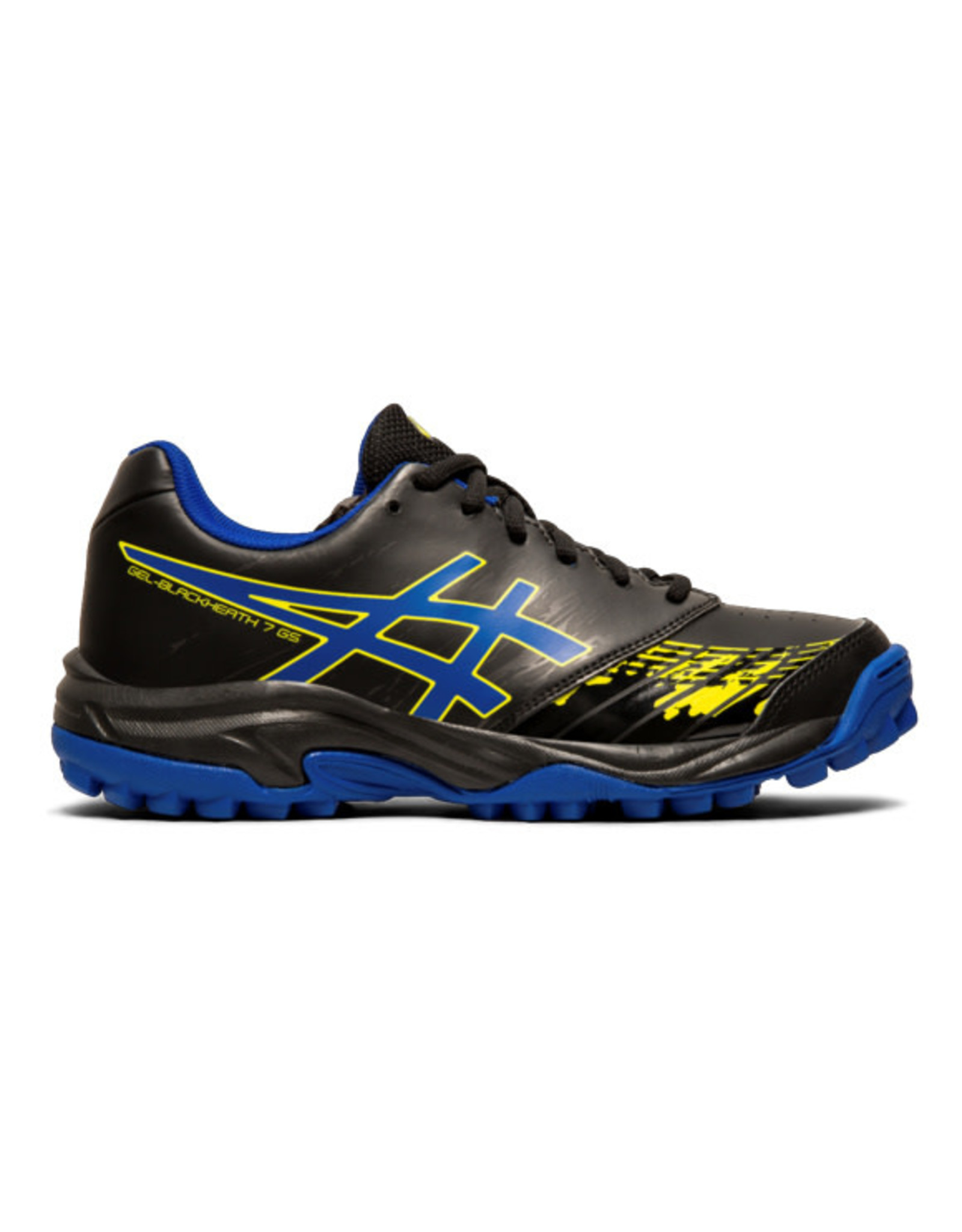 ASICS ASICS BLACKHEAT 7GS KIDS BLACK-ASICS BLUE 19-20