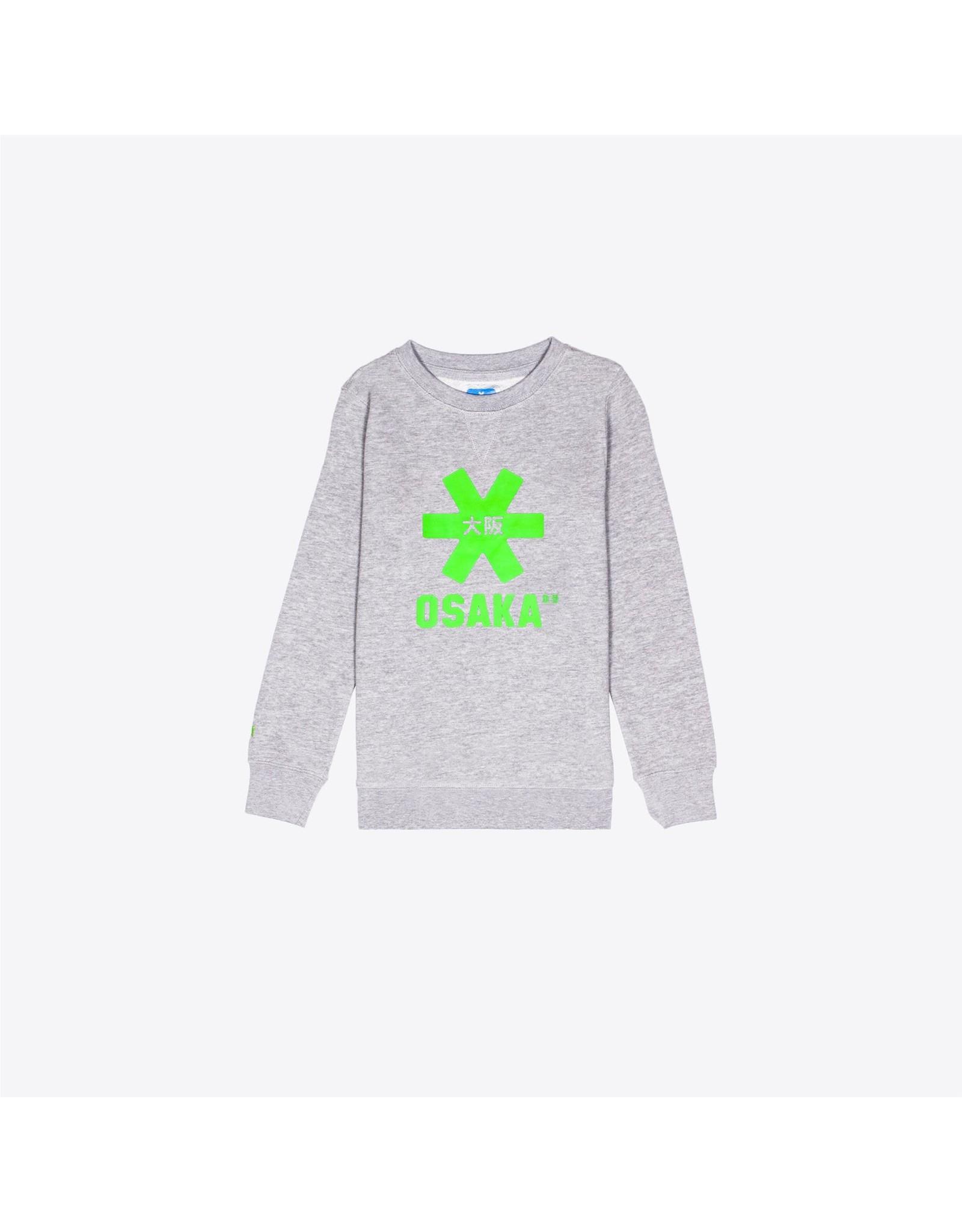 OSAKA OSAKA  DESHI SWEATER GREEN STAR