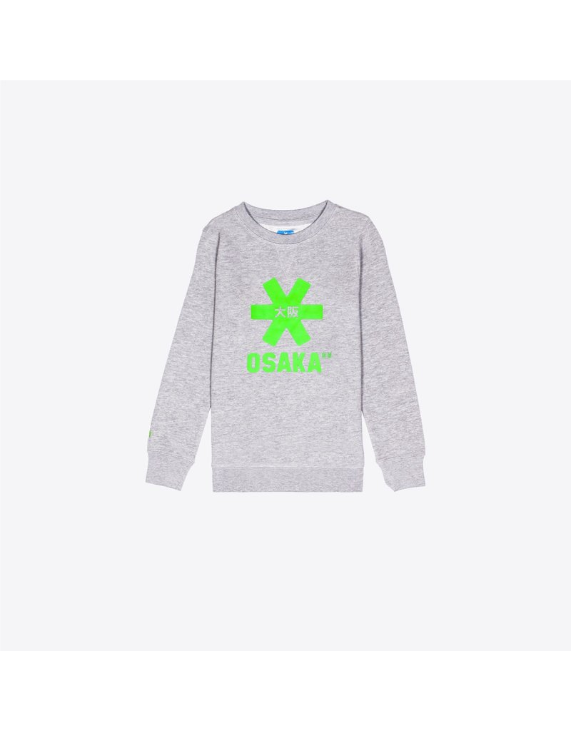 OSAKA OSAKA  DESHI SWEATER GREEN STAR