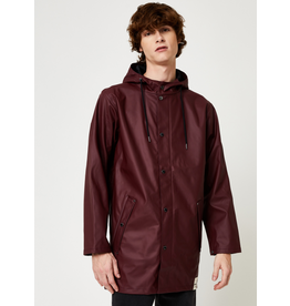 RAINS JACKET XS/S SCARLET