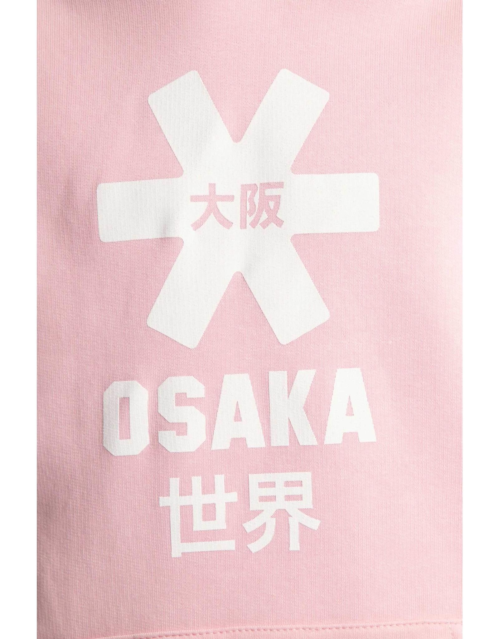 OSAKA OSAKA DESHI HOODIE WHITE STAR 20-21 COTTON PINK