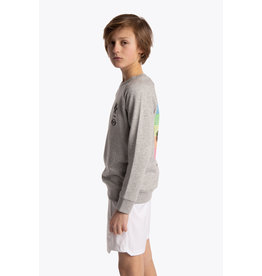 OSAKA OSAKA DESHI SWEATER WARPY 20-21 HEATHER GREY