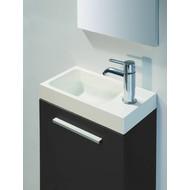Van Marcke Intro Vesta toiletmeubel set zwart links