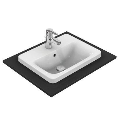 Ideal Standard  Connect rechthoekige inbouwwastafel